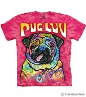 Pug Luv T-shirt | Dog T-shirts | The Mountain® | Dean Russo